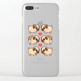 Puglie Pride Clear iPhone Case