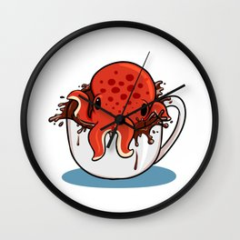 Served with Octopus Wall Clock