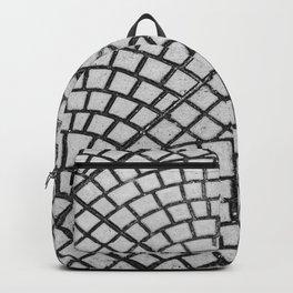 Pattern on floor Backpack