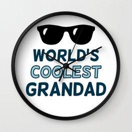 World's Coolest Grandad Wall Clock