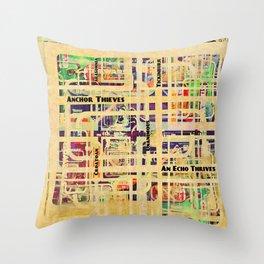 An Echo Thrives Throw Pillow
