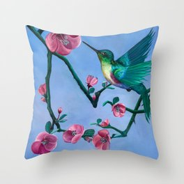 Edna valley Annie Hardy Throw Pillow