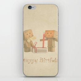 Happy Birthday iPhone Skin