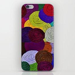 Colorful Circle Art iPhone Skin