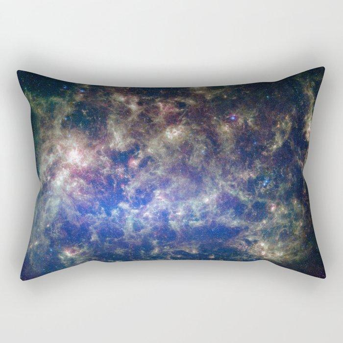 Large Magellanic Cloud, infrared 2 Rectangular Pillow