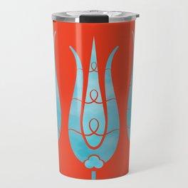 Turkish Tulips ethic design Travel Mug