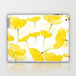 Light Yellow Poppies Spring Summer Mood #decor #society6 #buyart Laptop & iPad Skin