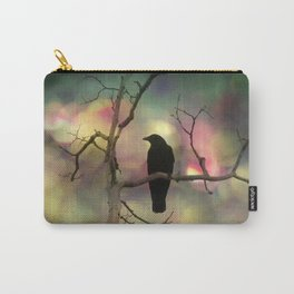 Crow Dreams In Colors Carry-All Pouch