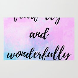 Fearfully and Wonderfully Rug