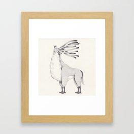 spirit forest Framed Art Print