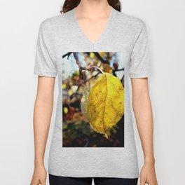 Leaves in full bloom Unisex V-Neck