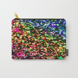 Sublime Color : Rainbow Crystal Pixels Carry-All Pouch