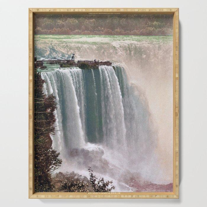 Vintage Niagara Falls - Two Serving Tray