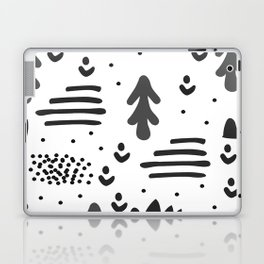 Sandinavian absract art Laptop & iPad Skin