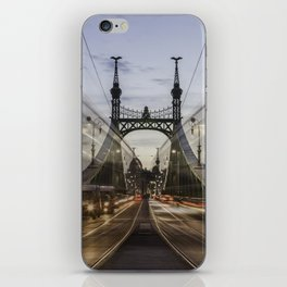 Budapest traffic iPhone Skin