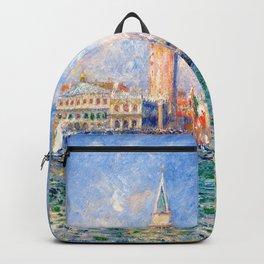 """Auguste Renoir """"Vue de Venise (Le Palais des Doges)"""" Backpack"""