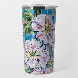 Flowers Painting Travel Mug