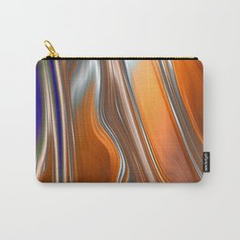 Monochrom Golden Age Splash Abstract Carry-All Pouch