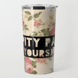 My Pity Party Travel Mug