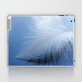 Feather in the clouds Laptop & iPad Skin