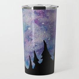 Galaxies and Trees Travel Mug