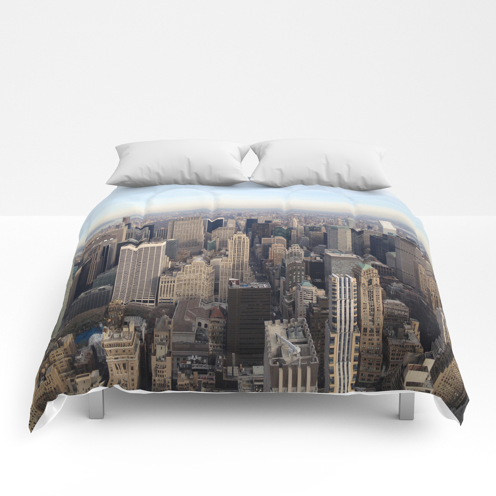 New York I Love You Comforter by Lucreziasemenzato CMF929300