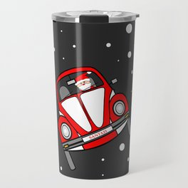 Santas Sleigh Is In The Shop Travel Mug