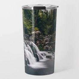 Sawmill Falls on Opal Creek, Oregon Travel Mug
