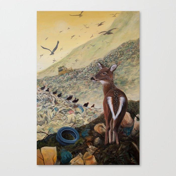Land Unfulfilled Canvas Print
