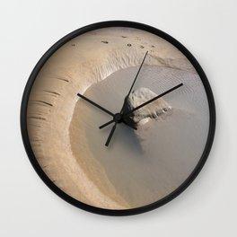 TIDAL POOL SANDYMOUTH BEACH CORNWALL Wall Clock