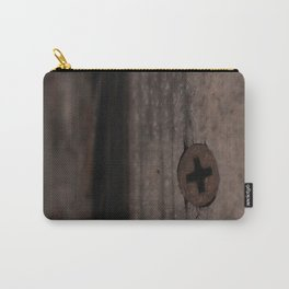 Rust Screw in Weathered Painted Door Carry-All Pouch