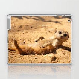 Meerkat Suricat suricatta Sunbathing #decor #society6 Laptop & iPad Skin