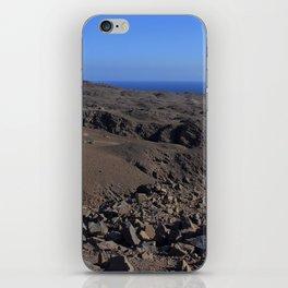 Tierra y mar iPhone Skin