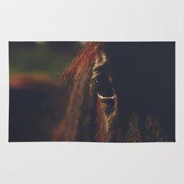 Horse photography, high quality, nature landscape fine art print Rug