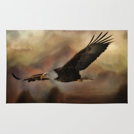 Eagle Flying Free Rug