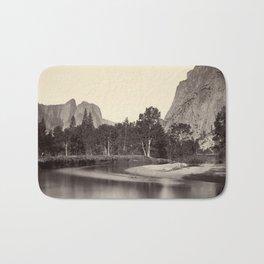 View from Camp Grove, Yosemite Bath Mat