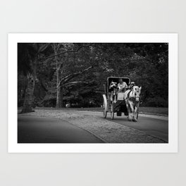 Carriage Art Print