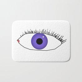 Eye doodle Bath Mat