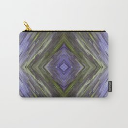 Claret and Moss Waves Carry-All Pouch