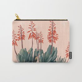 A blooming Plant Carry-All Pouch
