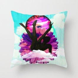 Fallen flower Throw Pillow