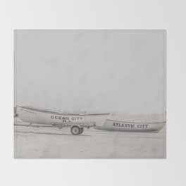 New Jersey Lifeboats Throw Blanket