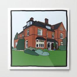 Cambridge struggles: Lucy Cavendish Metal Print