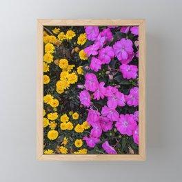 City Garden Framed Mini Art Print