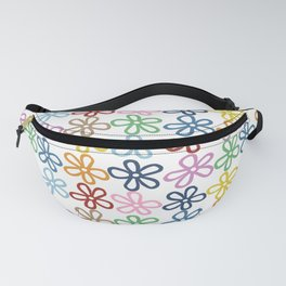 Colorful Daisies Fanny Pack