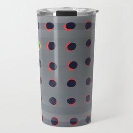 Dots - 3D circle Travel Mug