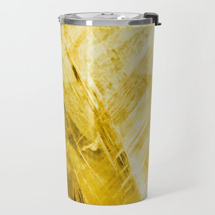 Gold Quartz Travel Mug