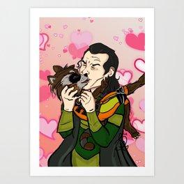 Why Nookie Rocket? Art Print