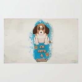 Cute & Cuddly Puppy Rug