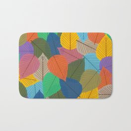Leaves, Leaves, Leaves - Autumn is Coming - 57 Montgomery Ave Bath Mat